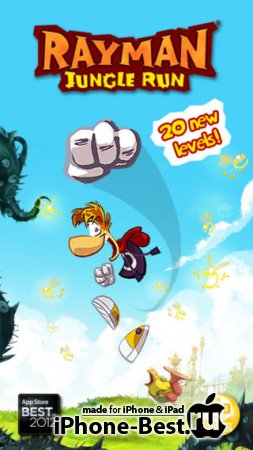 Rayman Jungle Run [1.3.0] [ipa/iPhone/iPod Touch/iPad]