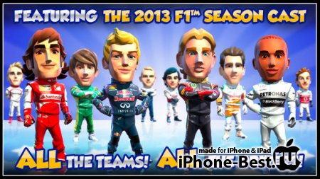 F1 Race Stars™ [1.0.6] [ipa/iPhone/iPod Touch/iPad]