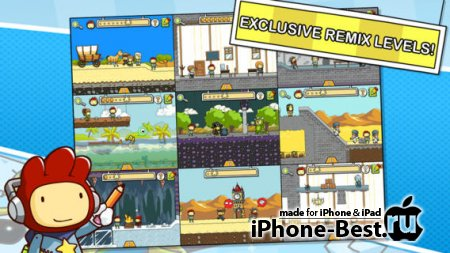 Scribblenauts Remix [3.8] [ipa/iPhone/iPod Touch/iPad]