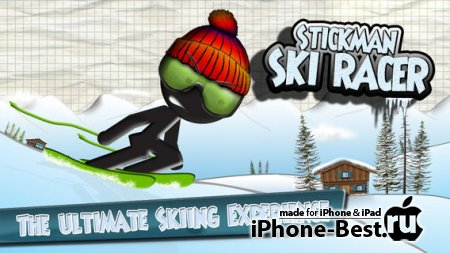 Stickman Ski Racer [1.8] [ipa/iPhone/iPod Touch/iPad]
