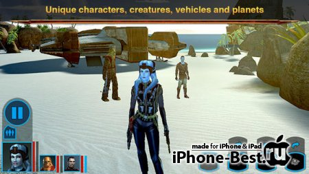Star Wars®: Knights of the Old Republic™ [1.2.0] [ipa/iPhone/iPod Touch/iPad]