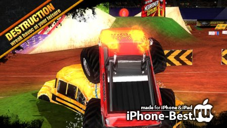 MEGASTUNT Mayhem Pro [1.5.0] [ipa/iPhone/iPod Touch/iPad]