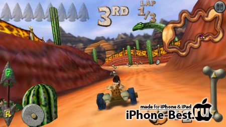 Cro-Mag Rally [5.1.2] [ipa/iPhone/iPod Touch/iPad]