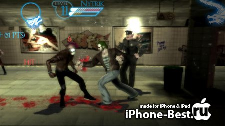Brotherhood of Violence 2 : Blood Impact [2.0.3] [ipa/iPhone/iPod Touch/iPad]
