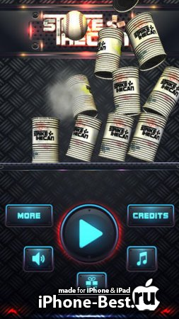 Can Knockdown Striker Game Pro [1.0] [ipa/iPhone/iPod Touch/iPad]