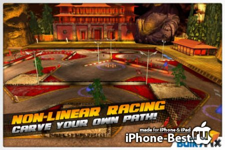 RPM: Gymkhana Racing [1.1] [ipa/iPhone/iPod Touch/iPad]