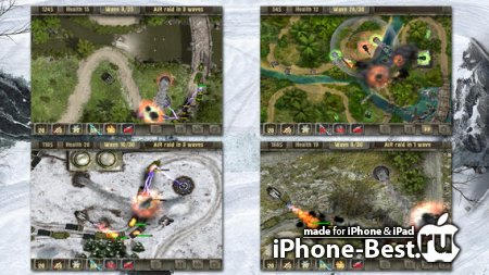 Defense zone HD [1.6.11] [ipa/iPhone/iPod Touch/iPad]