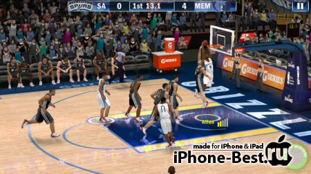 NBA 2K13 [1.3.5] [ipa/iPhone/iPod Touch/iPad]