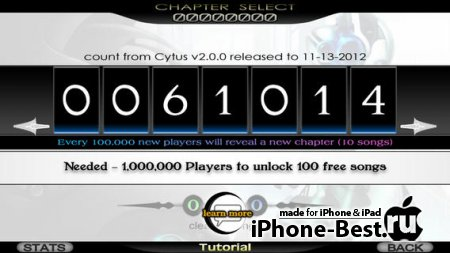 Cytus [5.0.2] [ipa/iPhone/iPod Touch/iPad]