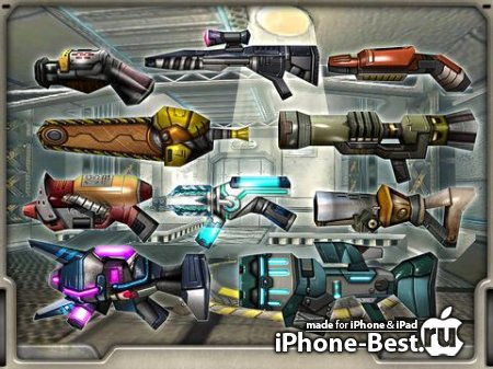 RobotNGun HD [1.43] [HD/iPad]