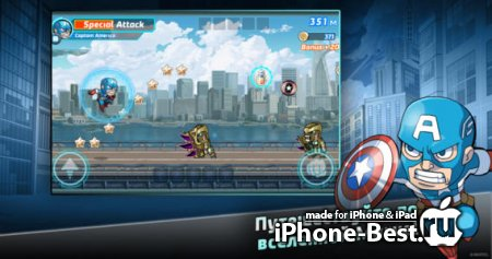 Marvel Run Jump Smash! [1.0.2] [ipa/iPhone/iPod Touch/iPad]