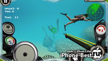 Spearfishing 2 Pro [3.4.1] [ipa/iPhone/iPod Touch]