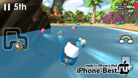 Hello Kitty® Kruisers [1.1] [ipa/iPhone/iPod Touch/iPad]