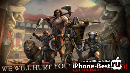 I, Gladiator [1.10.0] [ipa/iPhone/iPod Touch/iPad]