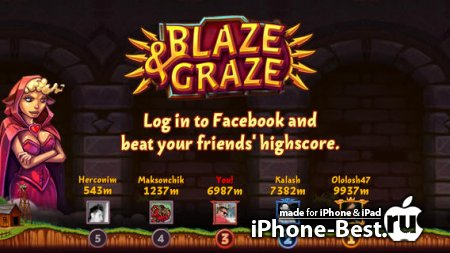 Blaze&Graze! [1.4.1] [ipa/iPhone/iPod Touch]