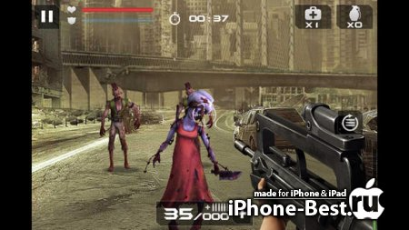 Blood Zombies [1.0.1] [ipa/iPhone/iPod Touch/iPad]