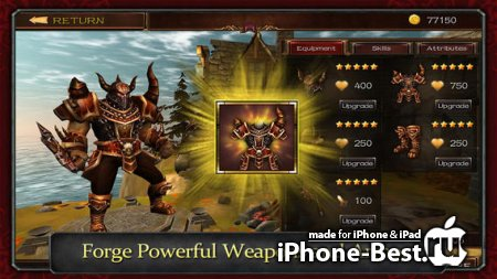 Demonrock: War of Ages [1.1] [ipa/iPhone/iPod Touch/iPad]