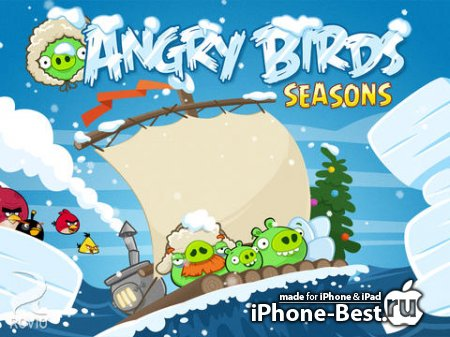 Angry Birds Seasons HD [4.0.2] [ipa/iPad]
