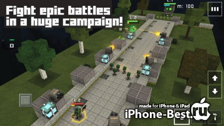 Block Fortress: War [1.2.3] [ipa/iPhone/iPod Touch/iPad]