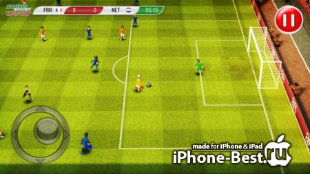 Striker Soccer Euro 2012: dominate Europe with your team [1.7.2] [ipa/iPhone/iPod Touch/iPad]