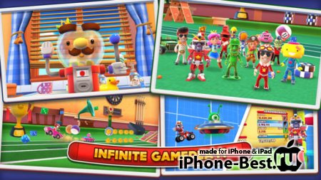 Joe Danger Infinity [1.1.2] [ipa/iPhone/iPod Touch/iPad]