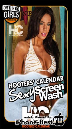 Hooters Calendar Sexy Screen Wash [1.6.0] [ipa/iPhone/iPod Touch]