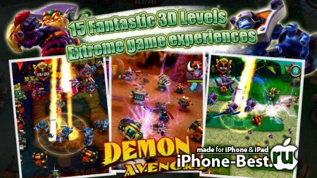 DemonAvengers TD [1.03] [ipa/iPhone/iPod Touch/iPad]