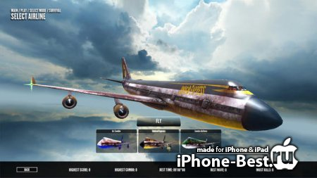 Zombies on a Plane [3.0] [ipa/iPhone/iPod Touch/iPad]