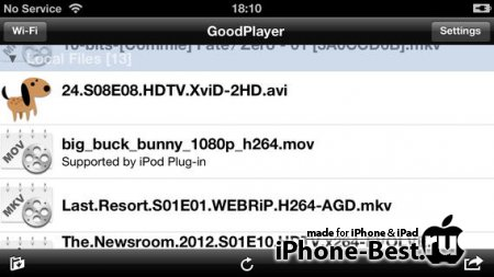 GoodPlayer - Movie Player & Downloader & Streaming Media Player [9.0] [ipa/iPhone/iPod Touch/iPad]