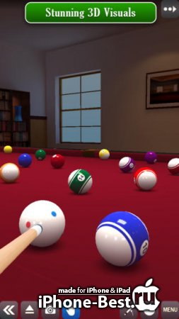 Pool Break – 3D Billiards and Snooker [2.5.1] [ipa/iPhone/iPod Touch/iPad]