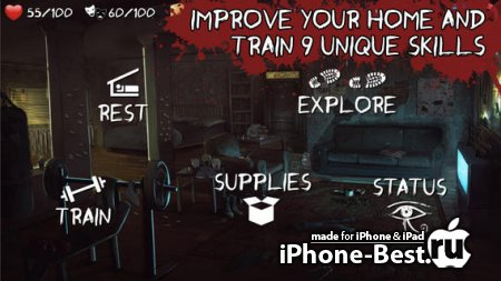 Overlive: Zombie Apocalypse Survival – The Interactive Story Adventure and Role Playing Game [1.9] [ipa/iPhone/iPod Touch/iPad]