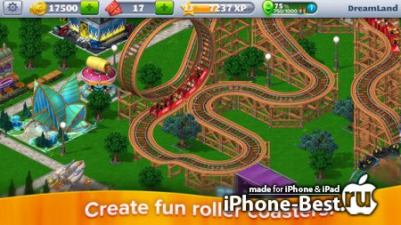 RollerCoaster Tycoon® 4 Mobile™ [1.0.1] [ipa/iPhone/iPod Touch/iPad]