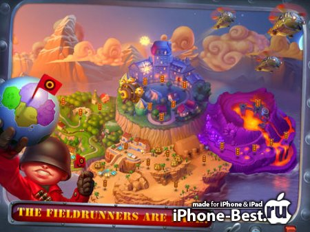 Fieldrunners 2 HD [1.8] [ipa/iPad]