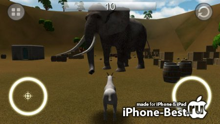 Goat Rampage [1.3.2] [ipa/iPhone/iPod Touch/iPad]
