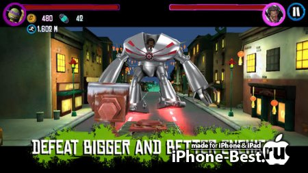 Teenage Mutant Ninja Turtles: Rooftop Run [2.0.25] [ipa/iPhone/iPod Touch/iPad]