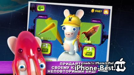 Rabbids Big Bang [2.1.1] [ipa/iPhone/iPod Touch/iPad]