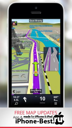 Sygic Europe & Russia: GPS Navigation [14.0.0] [ipa/iPhone/iPod Touch/iPad]