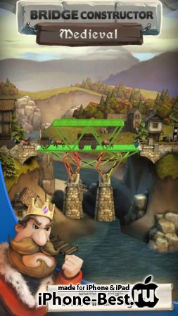 Bridge Constructor Medieval [1.2] [ipa/iPhone/iPod Touch/iPad]