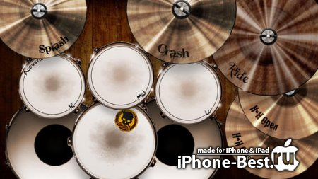 Drums! – A studio quality drum kit in your pocket [3.1.1] [ipa/iPhone/iPod Touch/iPad]