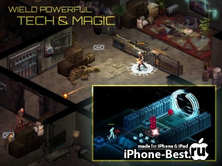 Shadowrun Returns [1.2.7] [ipa/iPhone/iPod Touch/iPad]
