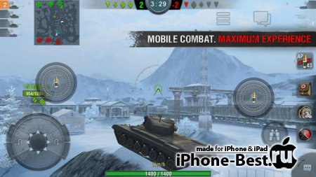 World of Tanks Blitz [1.0.0] [ipa/iPhone/iPod Touch/iPad]