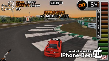 Drift Mania Championship Gold [1.56] [ipa/iPhone/iPod Touch/iPad]
