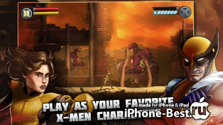 Uncanny X-Men: Days of Future Past [1.0.3] [ipa/iPhone/iPod Touch/iPad]