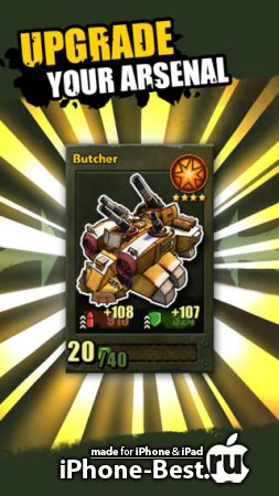 Base Busters™ – Best Tank Battle Game [1.1] [ipa/iPhone/iPod Touch/iPad]