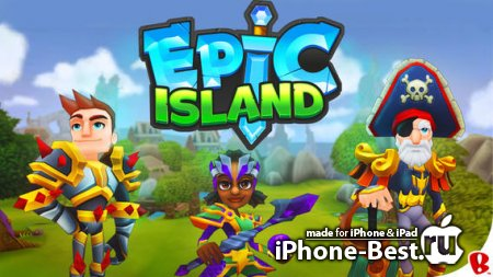 Epic Island [1.0.4] [ipa/iPhone/iPod Touch/iPad]