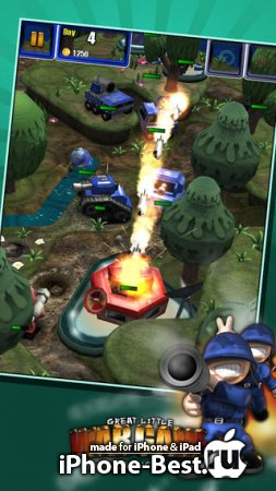 Great Little War Game 2 [1.3] [ipa/iPhone/iPod Touch/iPad]