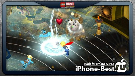 LEGO ® Marvel ™ Super Heroes: Universe in Peril [1.1] [ipa/iPhone/iPod Touch/iPad]