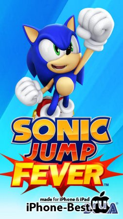 Sonic Jump Fever [1.0.0] [ipa/iPhone/iPod Touch/iPad]
