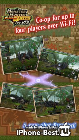 MONSTER HUNTER FREEDOM UNITE for iOS [1.00.02] [ipa/iPhone/iPod Touch/iPad]