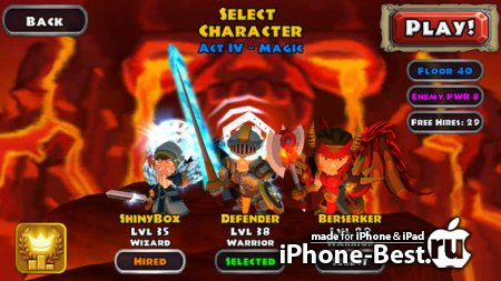 Dungeon Quest [1.1.1] [ipa/iPhone/iPod Touch/iPad]